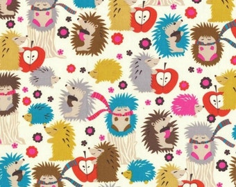 SALE - Michael Miller - Fox Woods Collection - Hedgehog Meadow in Cream