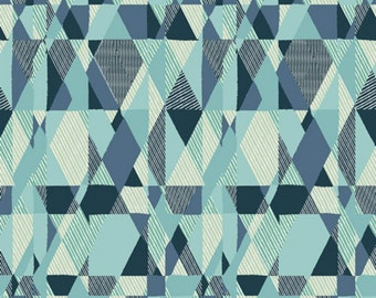 SALE - Art Gallery - Essentials II Collection - Intertwill in Azure