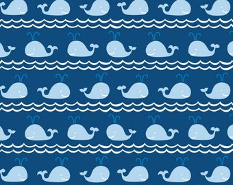 Blend Fabrics - True Blue Collection - Rowing in Blue