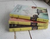 Nancy Drew Mystery Books set of 3 Yellow
