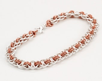 Sale Economical Helm Chainmaille Bracelet and Earring Kit