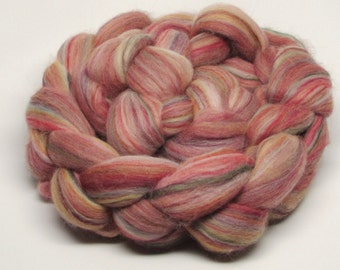 Merino Wool Roving  Hollyberry 4 ounces