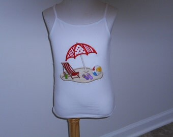 SALE - Day at the Beach (Girls Size 6/6X)