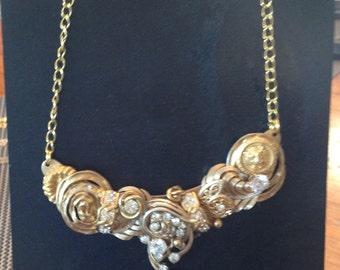 Vintage gold necklace