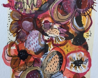 Original Abstract Art Modern Contemporary Painting by Julie Steiner