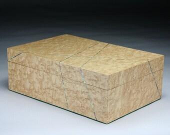 Sugkuria  (By Chance) - Bird's Eye Maple Jewelry Box