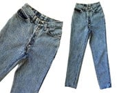 Vintage 70s Levis 501s High Waist Jeans Faded Distressed LEVI 501 Button Fly Boyfriend Jeans Womens Levi 501s Slim Fit Taper Jeans 25 Waist
