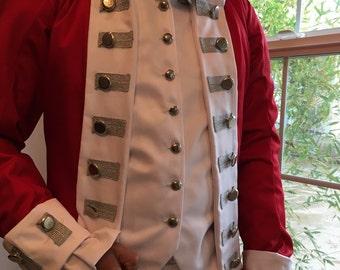 Custom 18th Century British soldier's uniform