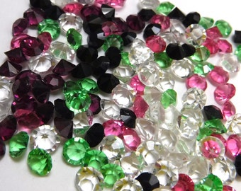 Clear Rhinestones 144 pcs 7mm & 9mm Point back Unfoiled Crystal Jewel LOT 72