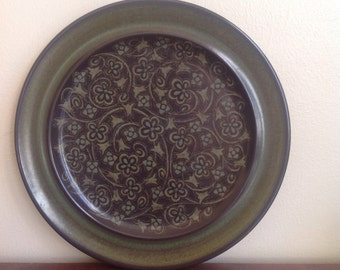 Vintage Franciscan Madeira Pattern 10.5 Inch Dinner Plate.