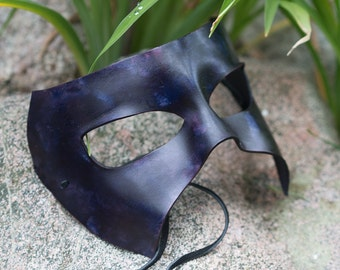 Masquerade Leather Mask