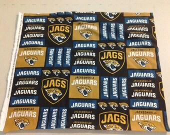 Jacksonville Jaguars Fabric 247350