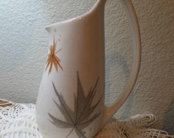 Mid Century Ben Seibel Iroquois Creamer - Maple Syrup Jar - Informal True China