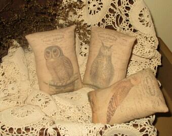Owl Pillow bowl fillers