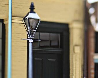 New Orleans Street Lamp Photograph, French Quarter Art,  Fine Art Print, Mardi Gras Wall Art Home Decor 8x10, 11x14, 16x20, 20x24