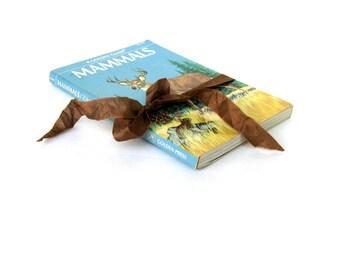 Mammals Golden Guide Book, Vintage Mammals Book, Homeschool Book, Animal Art