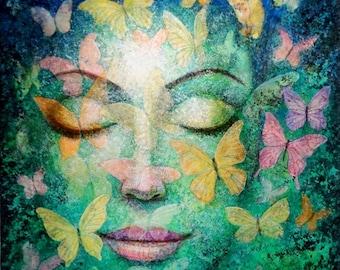 Image result for meditation goddess