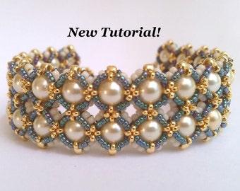 Tutorial for Cobblestones Bracelet