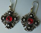 Vintage Jerusalem Crusaders Cross Earrings