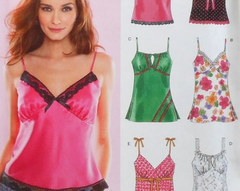 Summer Top Sewing Pattern UNCUT New Look 6490 Sizes 10-22