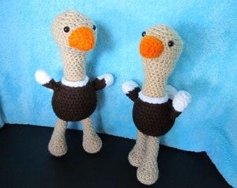 Crochet Ostrich