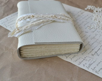 White Leather and Lace Journal