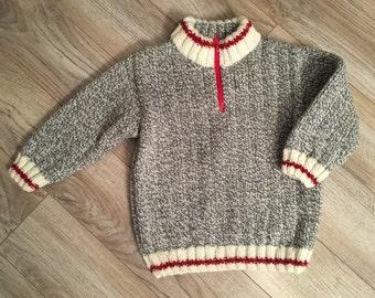 """Waistcoat """"bottom of wool"""" - 4 years"""