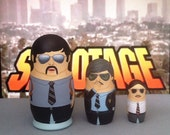 "The Beastie Boys ""Sabotage"" Matryoshka Dolls"