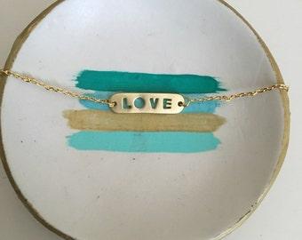 Love Chain Bracelet