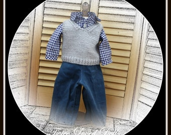 Casual Outfit - 18 Inch BOY Doll Clothes for American Girl, Our Generation, Journey Girls, Magic Attic, Carpatina