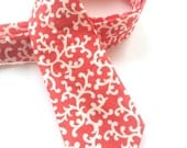 Little Guy Holiday NECKTIE Tie - Red Swirls - (2T-4T) - Boy Toddler - (Ready to Ship) Valentine's Day