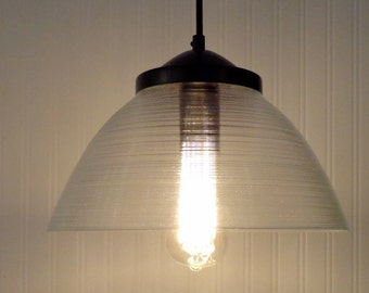 Contemporary PENDANT Light with Edison Bulb LAST ONE!