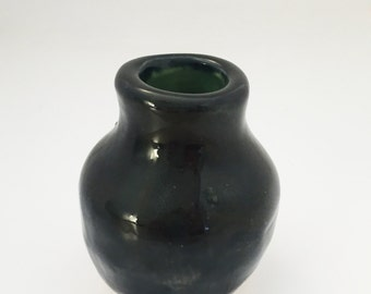 Small Vase in Obsidian
