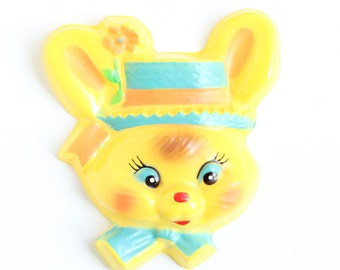 Retro Easter Cake Decoration, Retro Bunny Cake Decoration