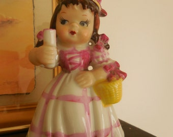 Vintage Little Girl Figurine