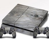 Playstation 4 Wood Grain Skin - Quote Me Printing PS4 #2
