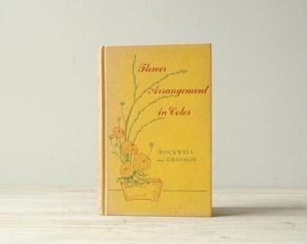 Vintage Flower Arrangements Book