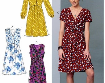 Loose Fitting Pullover Dress Pattern, McCall's Sewing Pattern 7381