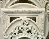White Frame Collection - Nursery Frames - Wedding Frames - Distressed White Frames - Farmhouse Wall Art - Home Decor