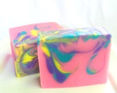 Love Spell Artisan Soap - Handmade Soap, Coconut Milk and Cocoa Butter Soap