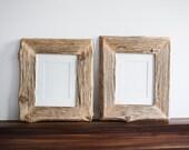 2 Reclaimed Farm Wood Photo/Art Work Frame 8x10
