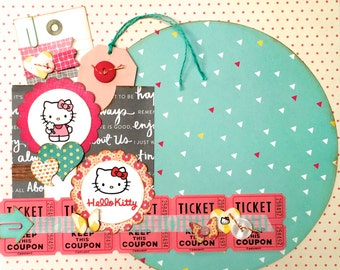Hello Kitty 12x12 tammy i Specialty Page Kit