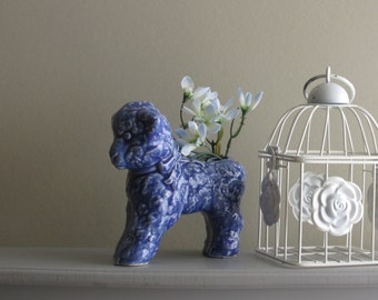Lamb - Vintage Art Pottery Planter - quirky animal - McCoy vase