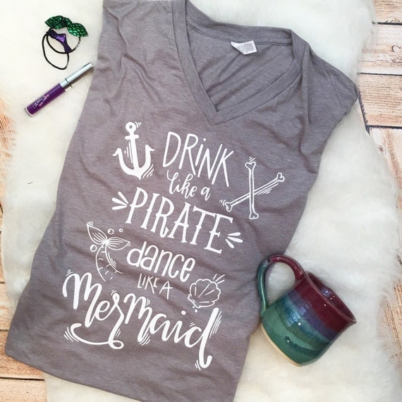 Drink like a Mermaid Tee