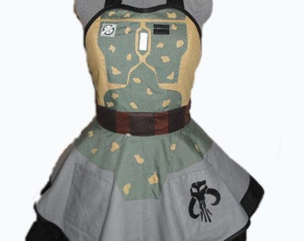 Star Wars Boba Fett Cosplay Apron *Made to order*