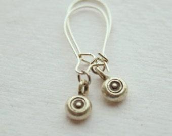 Hill Tribe Silver Dot Earrings