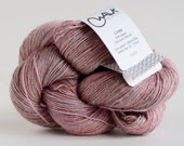 Linea Fingering - ROMANTIC - hand dyed Alpaca/Linen/Silk yarn
