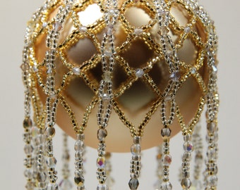 128. Beaded Ornament Cover