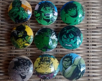 Hulk Marvel Handmade Knobs Drawer Pull Dresser Knob Pulls Switch Plate Covers to Match in Shop