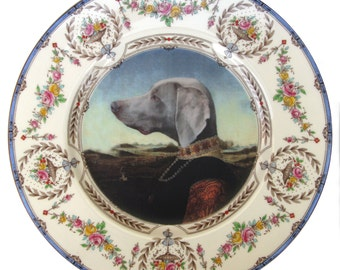 Grand Duchess of Saxe-Weimar-Eisenach - Altered Antique Plate 10.65""